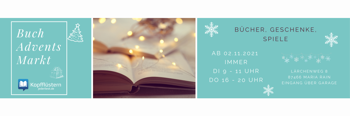 Buch-Adventsmarkt -