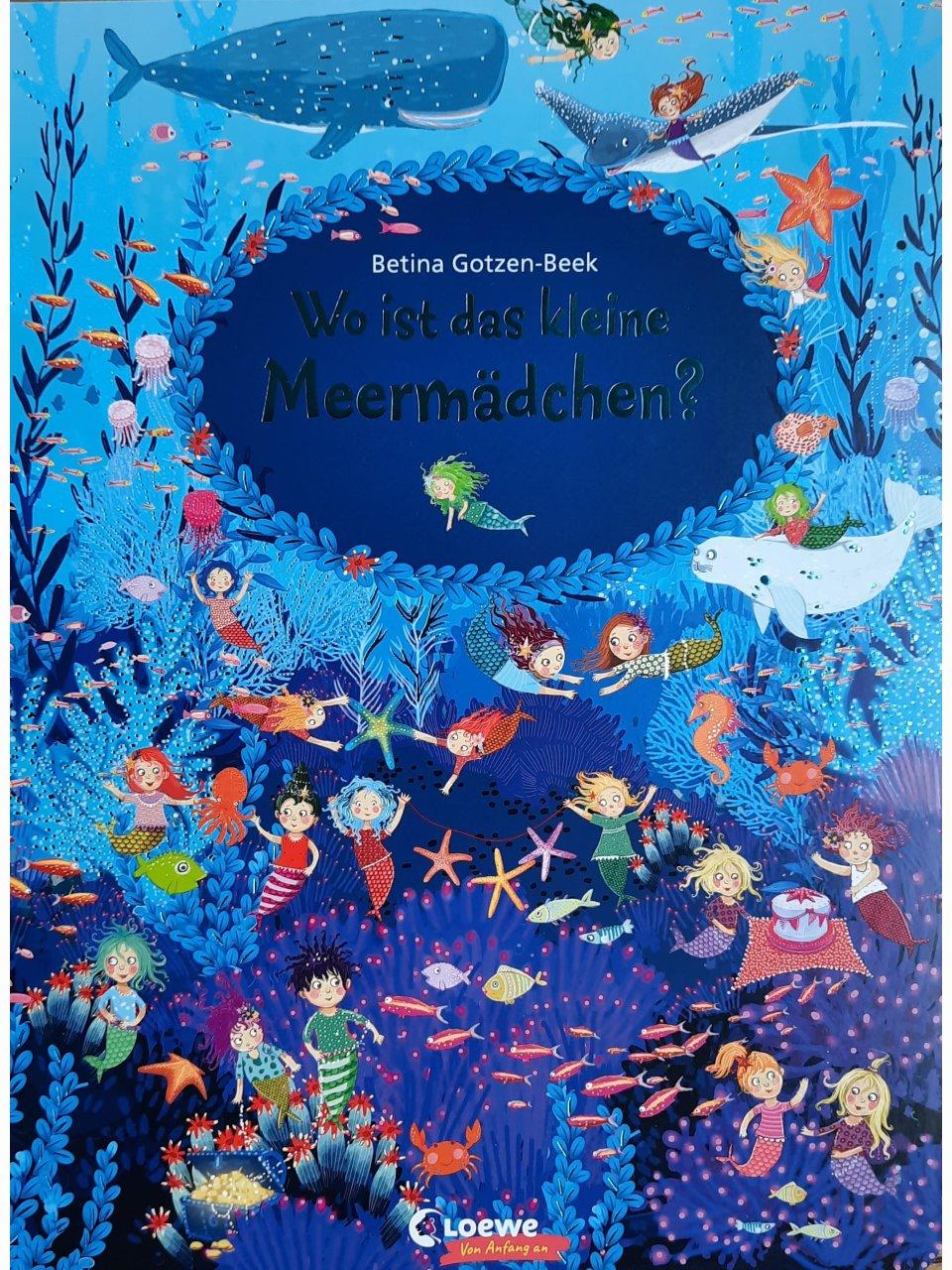 Wo ist das kleine Meermädchen?