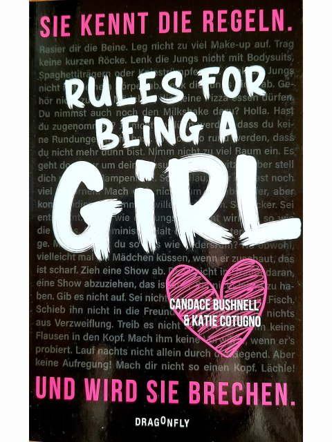 Rules for Being a Girl