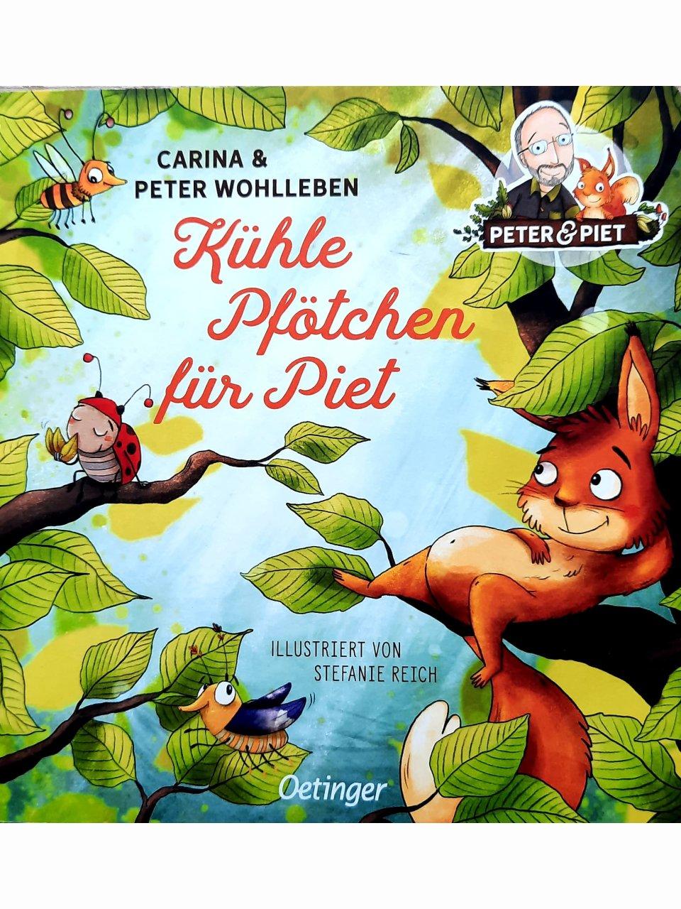 Kühle Pfötchen für Piet