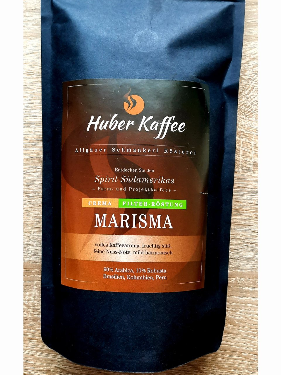 Kaffee Marisma-Filterröstung