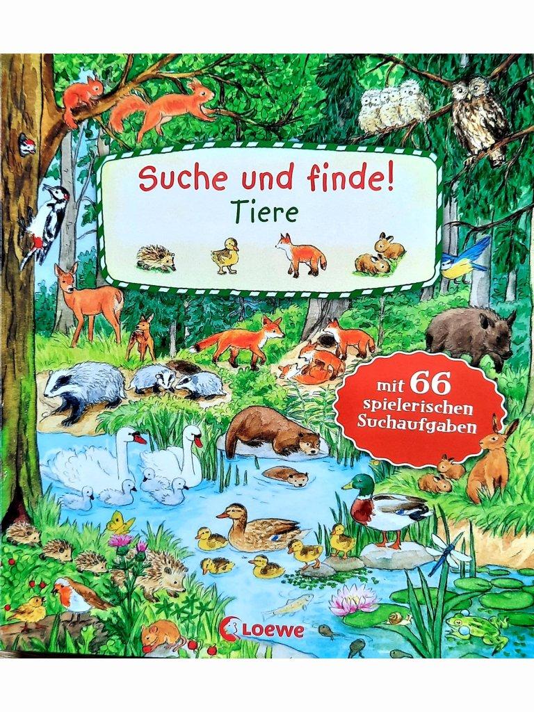 Suche und finde! - Tiere