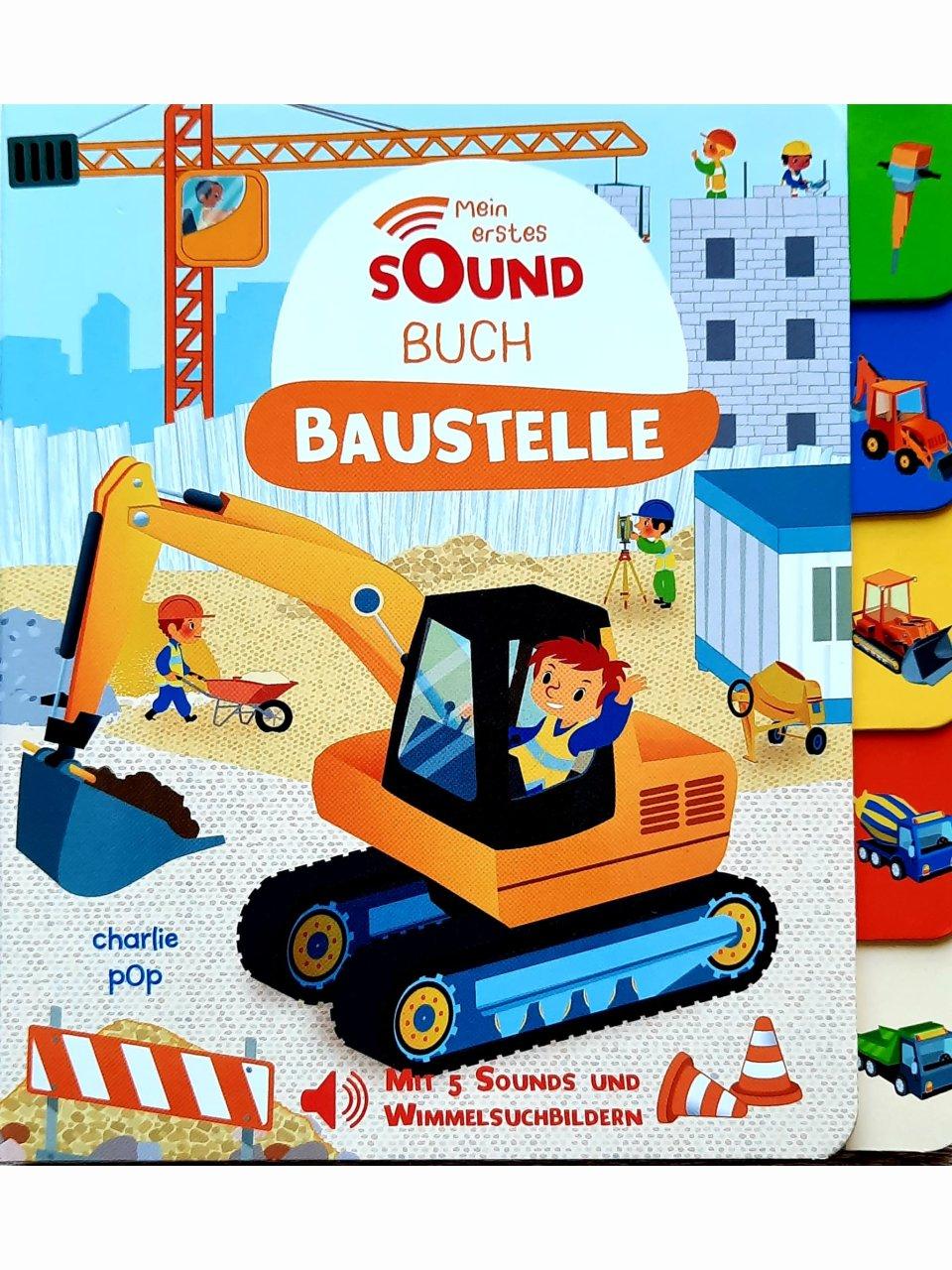 Mein Entdecker-Soundbuch - Baustelle