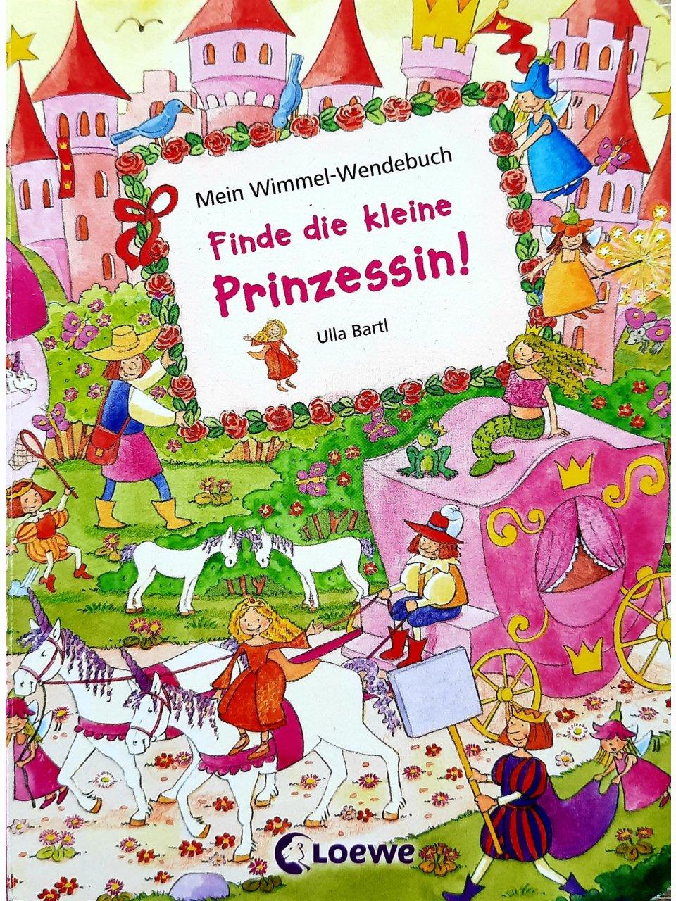 Mein Wimmel-Wendebuch - Finde die kleine Prinzessin! / Finde das kleine Einhorn!