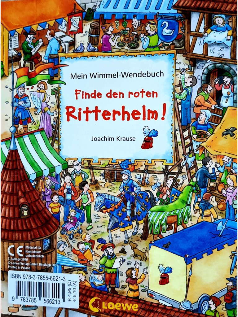 Mein Wimmel-Wendebuch - Finde den kleinen Bagger! / Finde...
