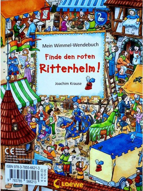 Mein Wimmel-Wendebuch - Finde den kleinen Bagger! / Finde den roten Ritterhelm!