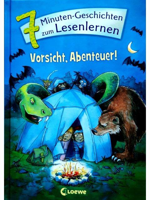 7-Minuten-Geschichten zum Lesenlernen - Vorsicht, Abenteuer!