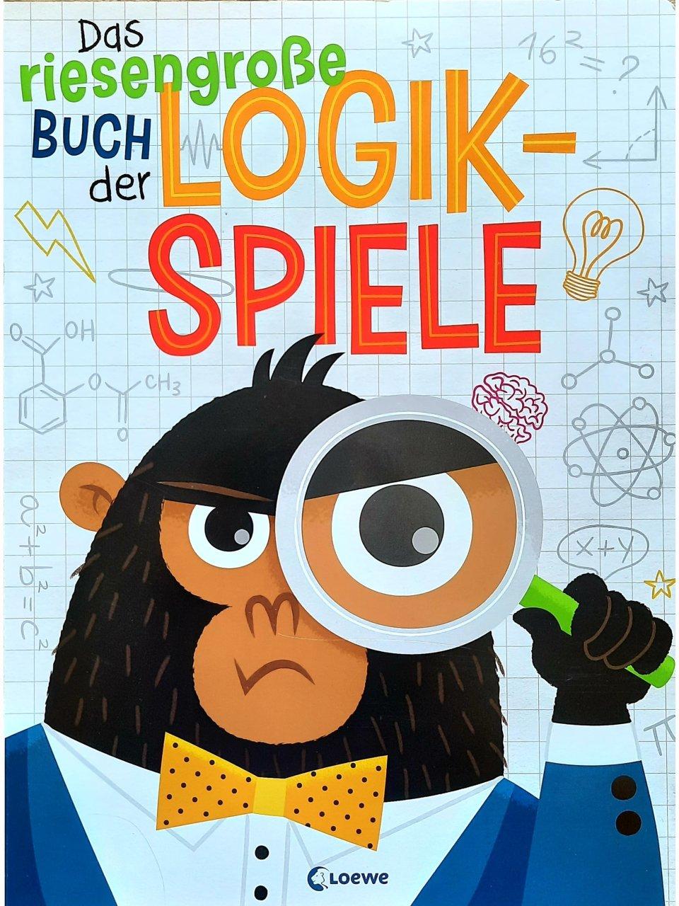 Das riesengroße Buch der Logikspiele