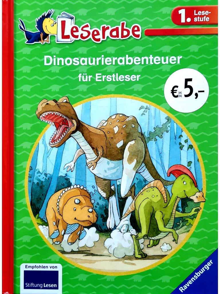 Dinosaurierabenteuer für Erstleser - Leserabe 1. Lesestufe