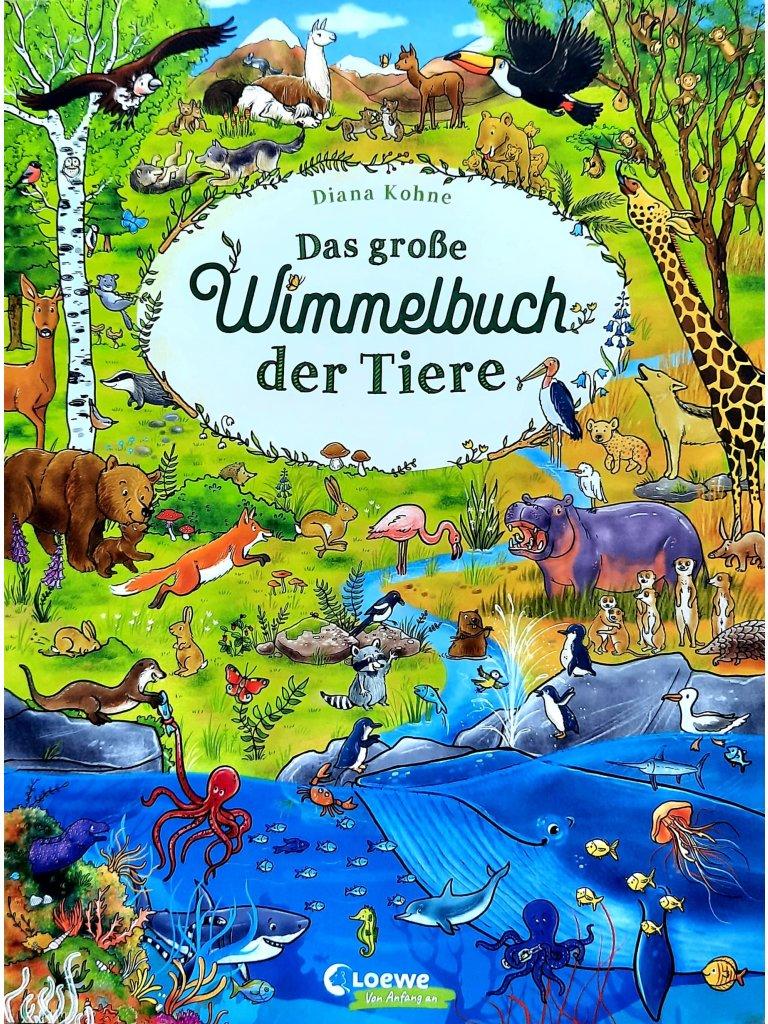 Das große Wimmelbuch der Tiere