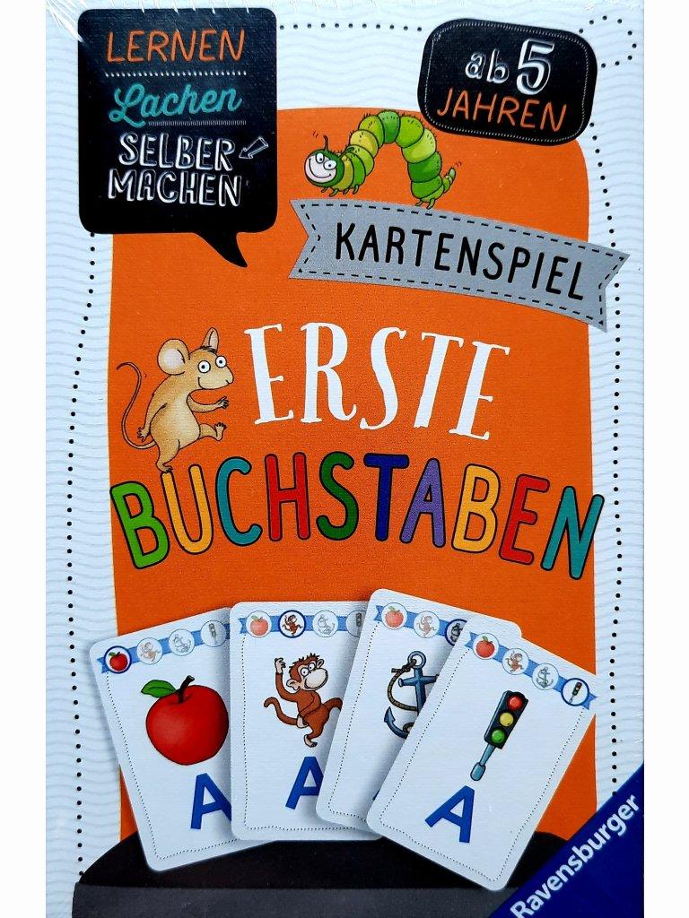 Erste Buchstaben - Kartenspiel