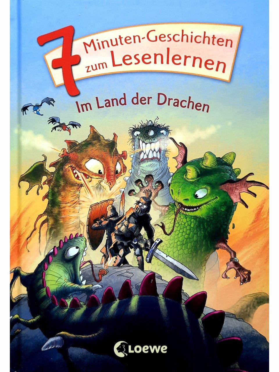 7-Minuten-Geschichten zum Lesenlernen - Im Land der Drachen