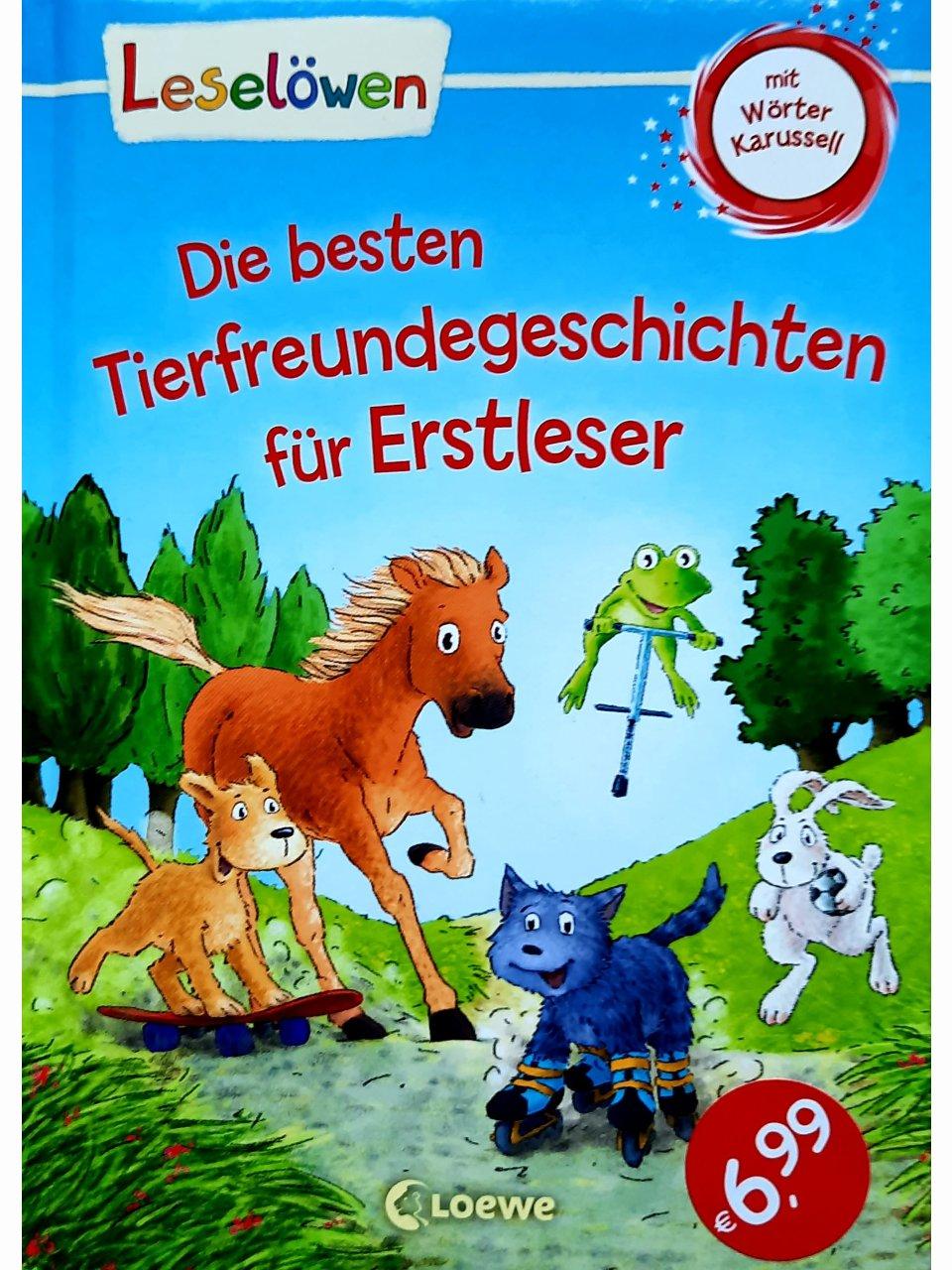 Leselöwen - Die besten Tierfreundegeschichten für Erstleser