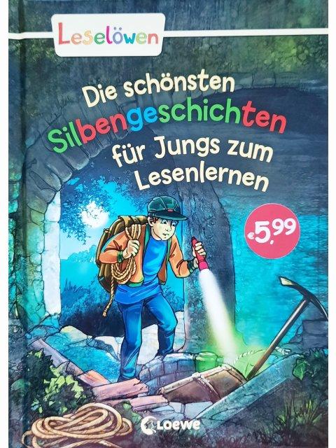 Leselöwen - Die schönsten Silbengeschichten für Jungs zum Lesenlernen
