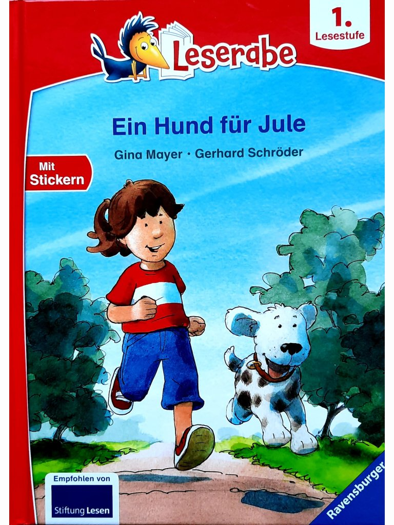 Ein Hund für Jule - Leserabe ab 1. Lesestufe
