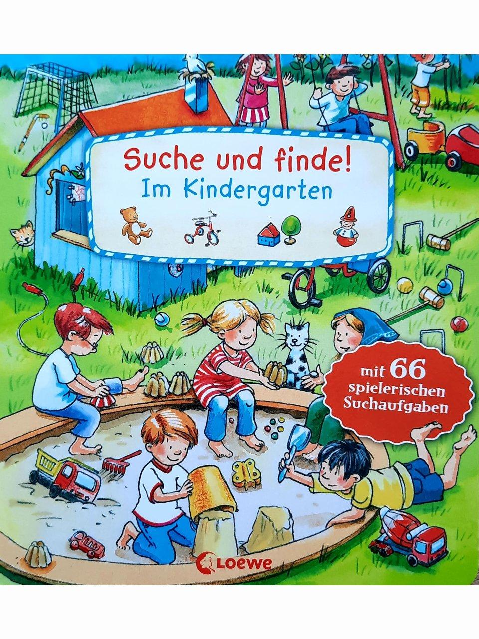 Suche und finde! - Im Kindergarten