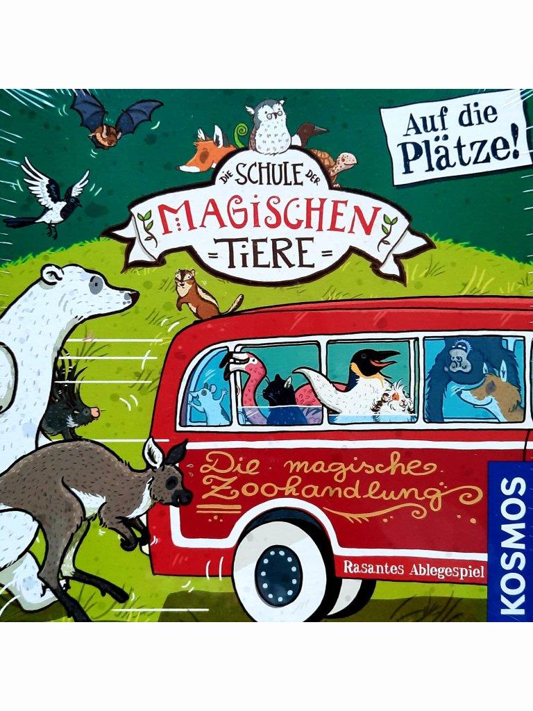 Schule der magischen Tiere - Auf die Plätze! (Kinderspiel)