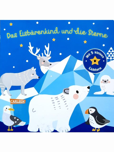 Das Eisbärenkind und die Sterne