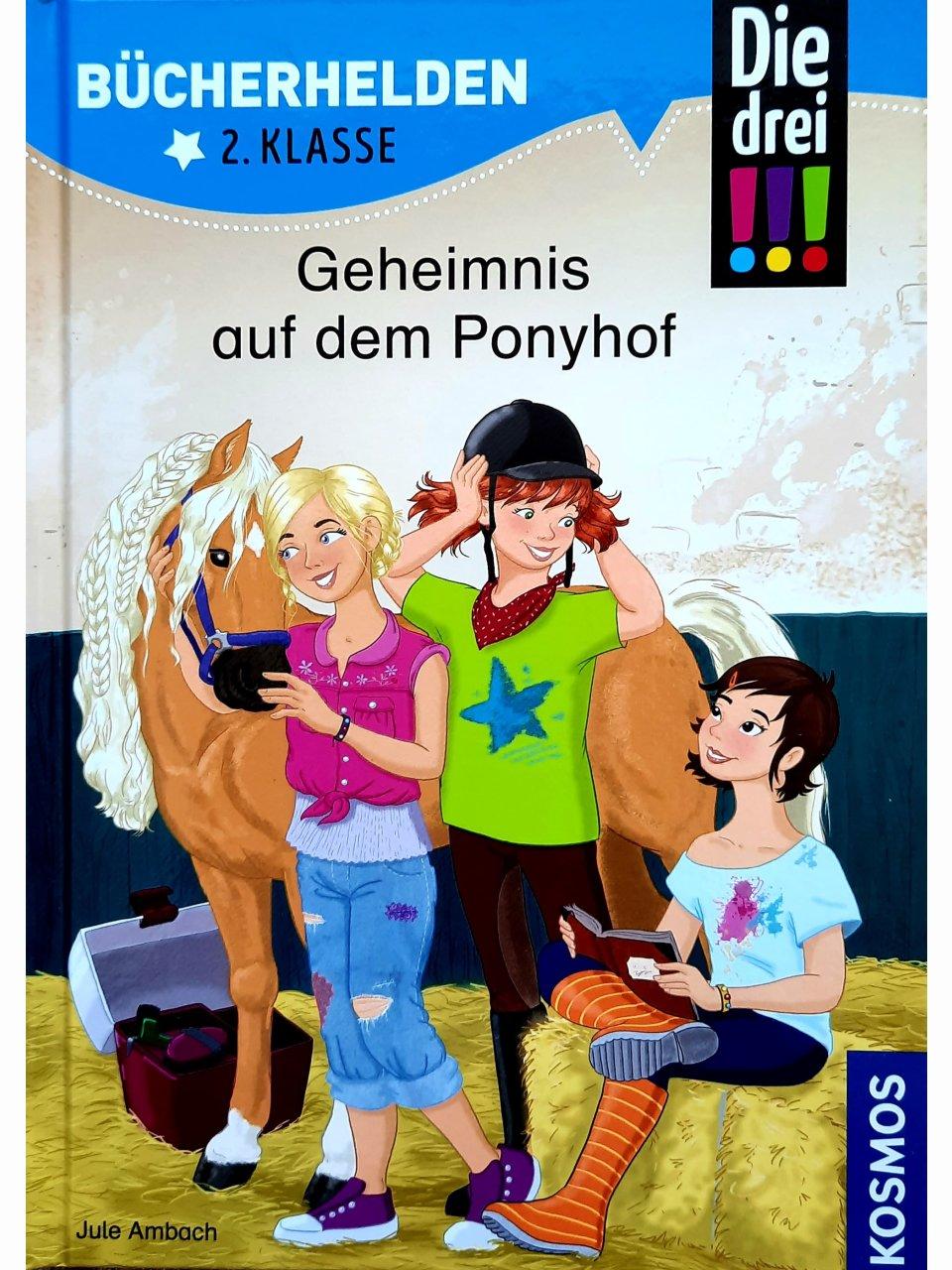Die drei !!! - Geheimnis auf dem Ponyhof