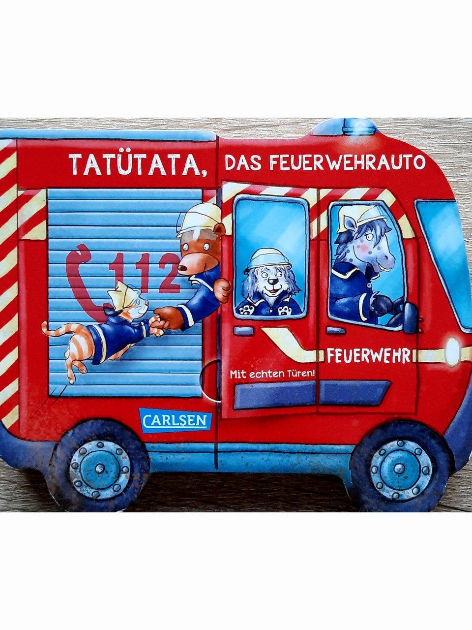 Tatütata, das Feuerwehrauto