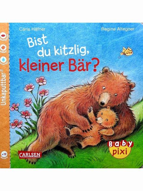 Bist du kitzlig, kleiner Bär? - unkaputtbar