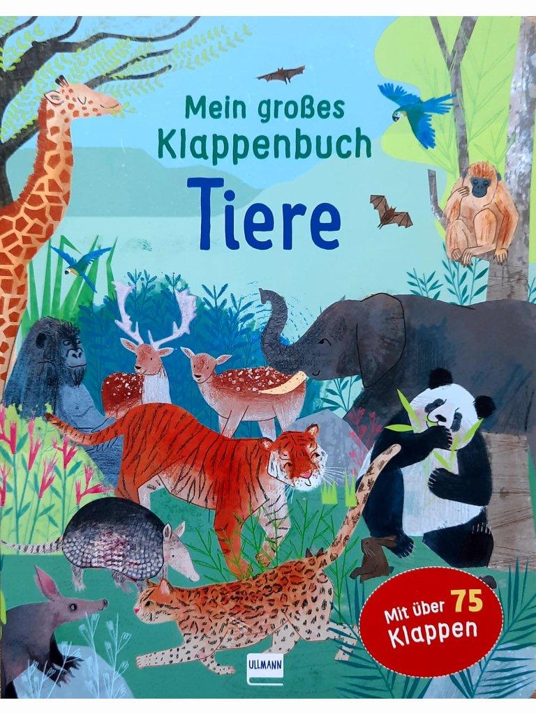 Mein großes Klappenbuch - Tiere